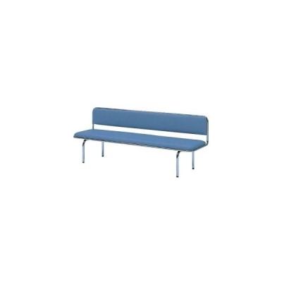 生興 長椅子 ビニールレザー張り 背付き W1500MM   LC-60A□