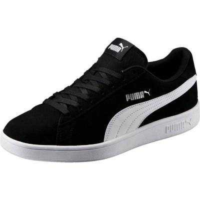 プーマ Puma メンズ スニーカー シューズ・靴 Smash V2 Suede Trainers Black/White