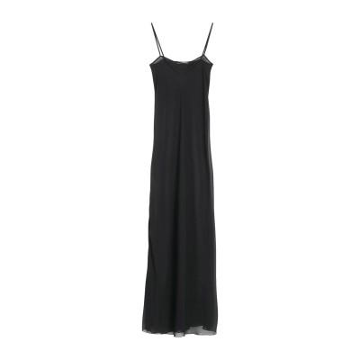 LUCILLE ロングワンピース&ドレス ブラック 42 ポリエステル 100% ロングワンピース&ドレス