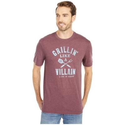 ライフイズグッド メンズ シャツ トップス Grillin' Like A Villain Cool Tee™