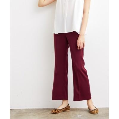 ViS / 【EASY CARE】ダブルクロスフレアパンツ WOMEN パンツ > スラックス