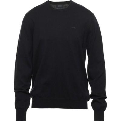 アルマーニ ジーンズ ARMANI JEANS メンズ ニット・セーター トップス Sweater Dark blue