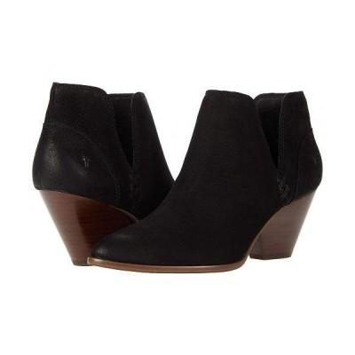 Frye フライ レディース 女性用 シューズ 靴 ブーツ アンクル ショートブーツ Reina Cutout Bootie - Black