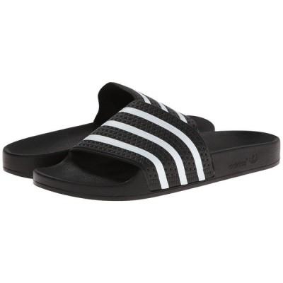アディダス adidas レディース サンダル・ミュール シューズ・靴 Adilette Black/White
