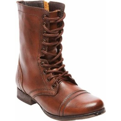スティーブ マデン レディース ブーツ・レインブーツ シューズ Women's Steve Madden Troopa Boot Brown Leather