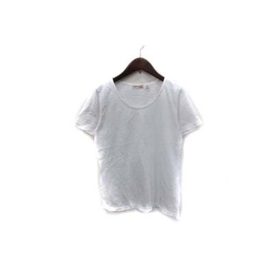 【中古】パラスパレス Pallas Palace Tシャツ カットソー 半袖 F 白 ホワイト /YI レディース 【ベクトル 古着】