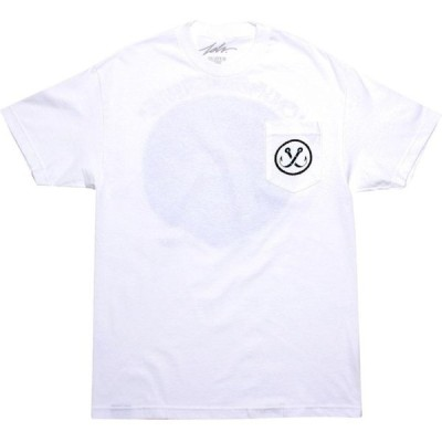 ジャスリブ JSLV メンズ Tシャツ ポケット トップス Survival Pocket Tee white