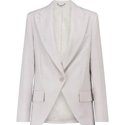 ステラ マッカートニー Stella McCartney レディース スーツ・ジャケット アウター lindsey wool blazer Fog