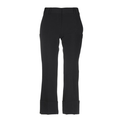 VERSUS VERSACE パンツ ブラック 40 95% ポリエステル 5% ポリウレタン パンツ