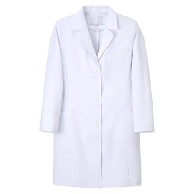 ナガイレーベン(株)   女子ドクターコート   DK-3340(S)ホワイト