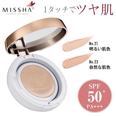 ミシャ M クッションファンデーション(モイスチャー) SPF50+/PA+++(ミシャ/MISSHA)