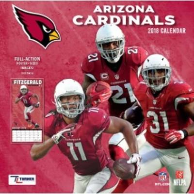 John F. Turner ジョン エフ ターナー スポーツ用品  Arizona Cardinals 2018 12 x 12 Team Wall Calendar