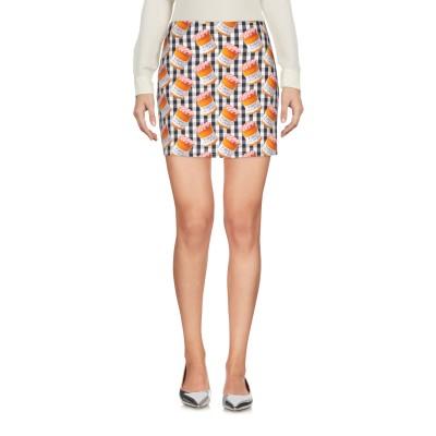 ブルーガール ブルマリン BLUGIRL BLUMARINE ミニスカート ブラック 40 コットン 96% / ポリウレタン 4% ミニスカート