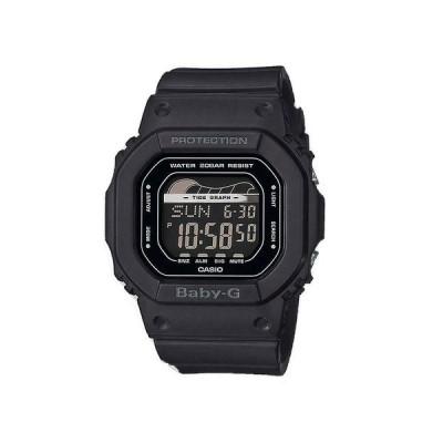 カシオ 腕時計 Casio BABY-G BLX560-1 G-Lide Matte Black Digital Tide Graph メンズ Sports Watch