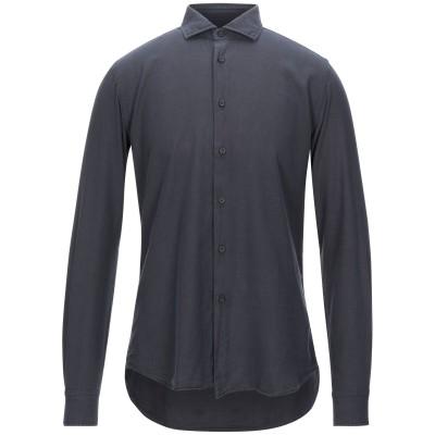 XACUS シャツ 鉛色 41 コットン 100% シャツ
