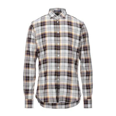 B.D.BAGGIES シャツ ホワイト S テンセル 70% / コットン 30% シャツ