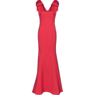 レベッカ ヴァランス Rebecca Vallance レディース パーティードレス ワンピース・ドレス martini textured crepe gown Pink