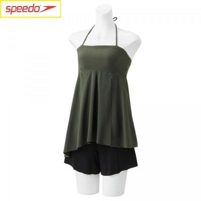 Speedo スピード リファインドバンドゥーセパレーツ レディース /StayFit/リゾート水着/セパレーツ SFW22050-KH