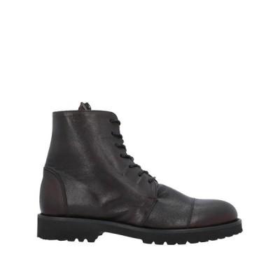 ANGELO PALLOTTA ショートブーツ  メンズファッション  メンズシューズ、紳士靴  ブーツ  その他ブーツ ダークブラウン