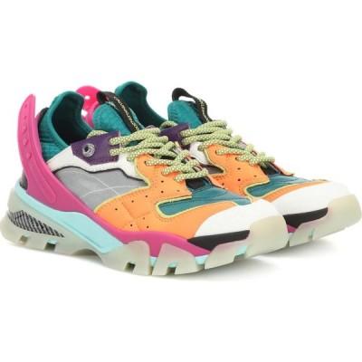 カルバンクライン Calvin Klein 205W39NYC レディース スニーカー シューズ・靴 Carla leather sneakers