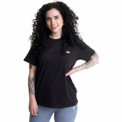 ディッキーズ Dickies レディース Tシャツ トップス - Mapleton Black - T-Shirt black