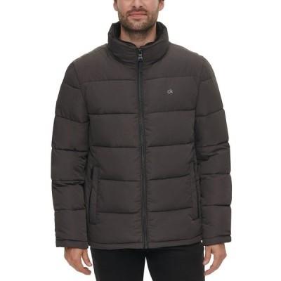 カルバンクライン ジャケット&ブルゾン アウター メンズ Men's Full-Zip Puffer Coat, Created for Macy's Alloy Grey