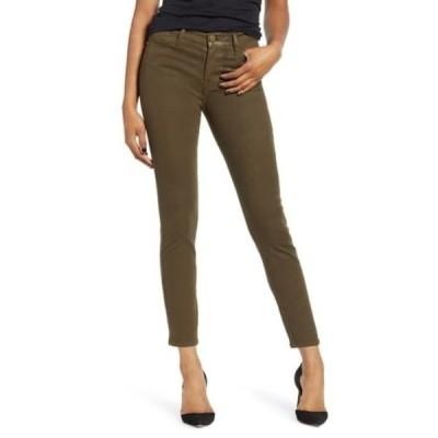 フレーム レディース デニムパンツ ボトムス Le High Waist Coated Skinny Jeans MILITARY C