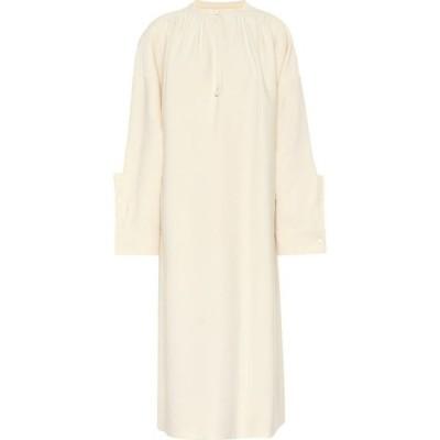 ジル サンダー Jil Sander レディース ワンピース ワンピース・ドレス wool and silk blend dress Natural
