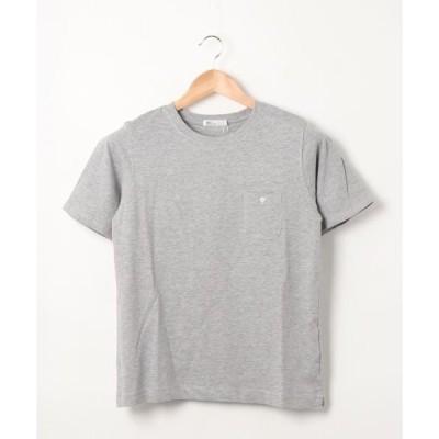 tシャツ Tシャツ ポケット付きカットプルオーバー2〇*