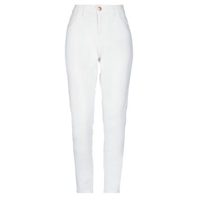 MAISON 9 Paris パンツ ホワイト 28 コットン 98% / ポリウレタン 2% パンツ