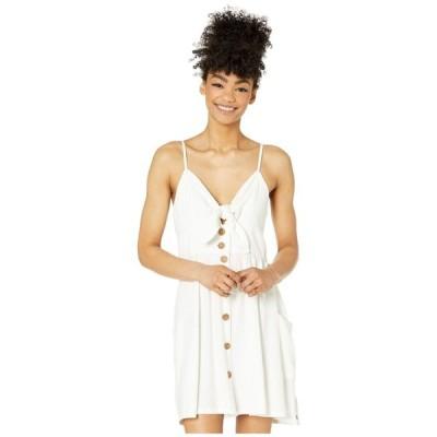 ロキシー Roxy レディース ワンピース サンドレス ワンピース・ドレス Under The Cali Sun Dress Snow White