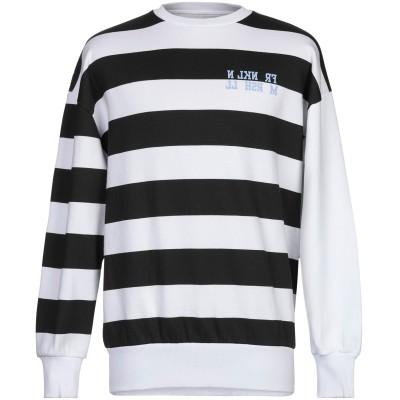 フランクリン & マーシャル FRANKLIN & MARSHALL スウェットシャツ ブラック S コットン 100% スウェットシャツ