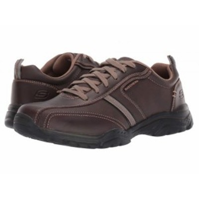 SKECHERS スケッチャーズ メンズ 男性用 シューズ 靴 スニーカー 運動靴 Relaxed Fit(R): Rovato Larion Brown【送料無料】