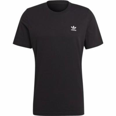 アディダス adidas Originals メンズ Tシャツ トップス Essential T-Shirt Black/White
