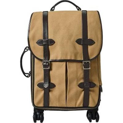 フィルソン メンズ スーツケース バッグ Filson Rolling 4 Wheel Carry On Bag Tan