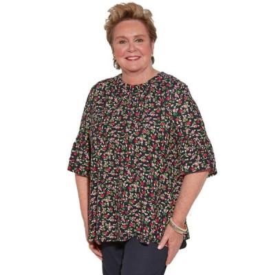 レディース 衣類 トップス Ovidis Knit Top for Women - Navy | Cristy | Adaptive Clothing - 1XL ブラウス&シャツ