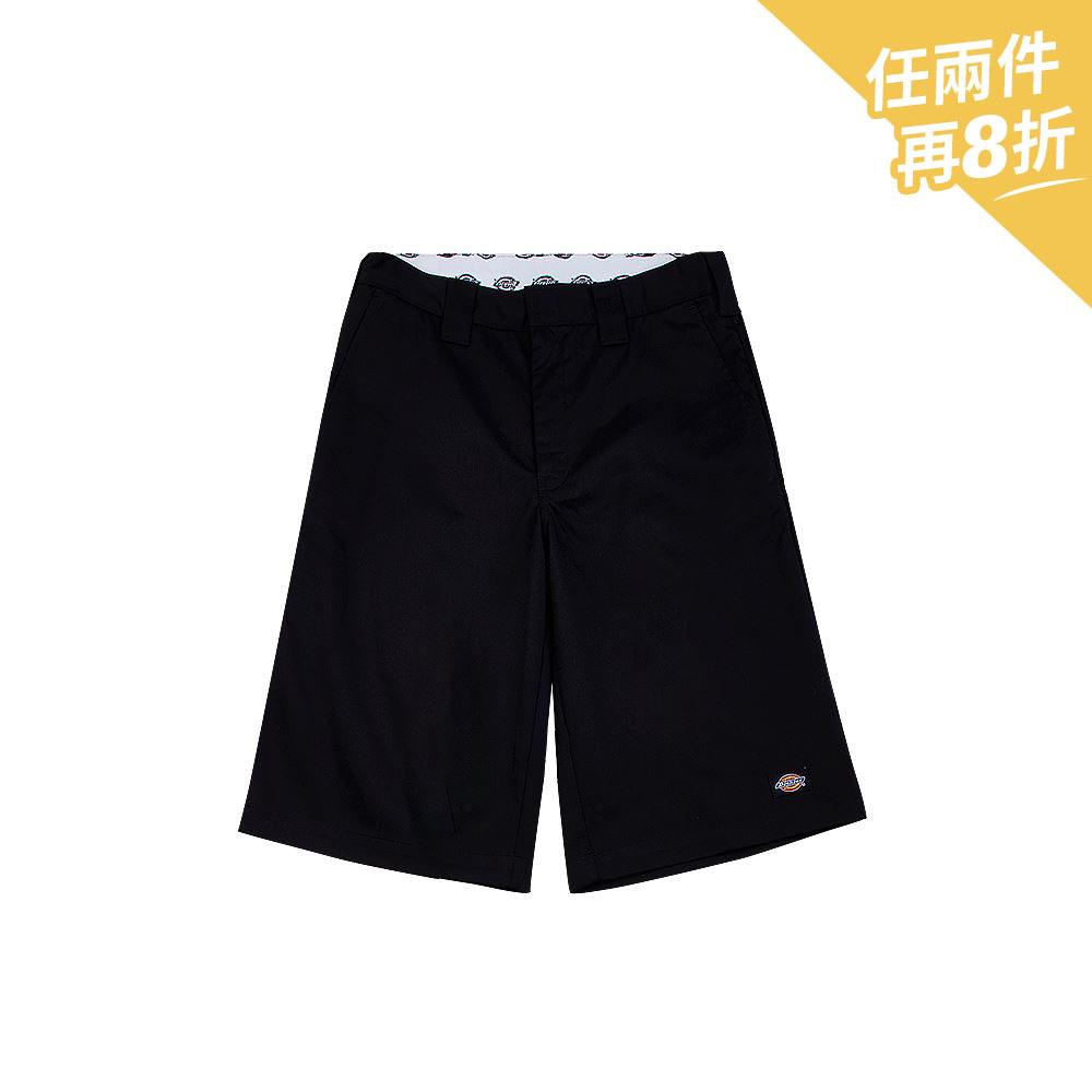 Dickies男款黑色斜紋US42283型常規直筒短褲|DK006825BLK