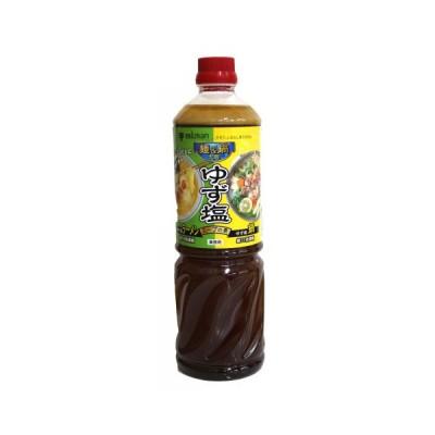 【秋冬商材】ミツカン 麺&鍋大陸 ゆず塩スープの素 1170g