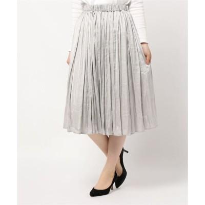 スカート ギャザースカート
