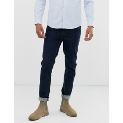 エイソス メンズ デニムパンツ ボトムス ASOS DESIGN skinny jeans in indigo Indigo