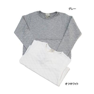 長袖Tシャツ ジャガード天竺 子供服 女の子 レース セラフ Seraph 100cm 110cm 120cm 130cm 60%OFF メール便OK FW2