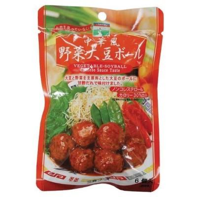 中華風野菜大豆ボール (100g) 【三育】