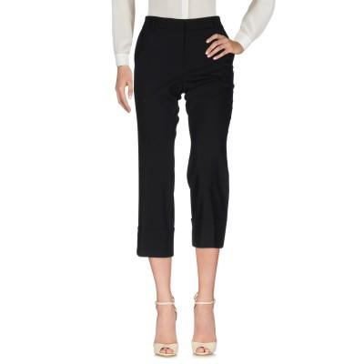 トゥルー ロイヤル TRUE ROYAL パンツ ブラック 42 ポリエステル 53% / バージンウール 43% / ポリウレタン 4% パンツ