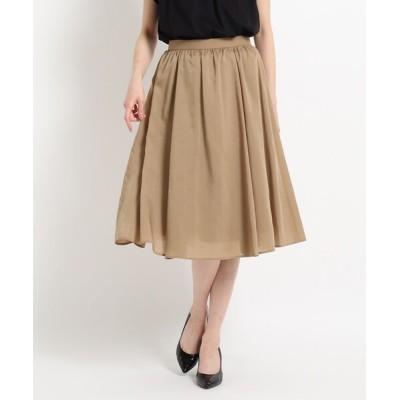 WORLD ONLINE STORE SELECT / 【洗える】ギャザーフレアスカート WOMEN スカート > スカート