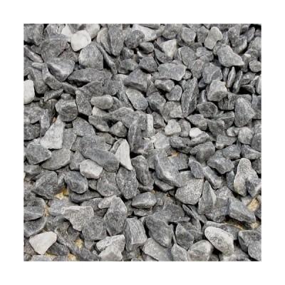 砂利 グレー 庭 ガーデニング おしゃれ 砕石砂利 1-2cm 60kg スレートグレー