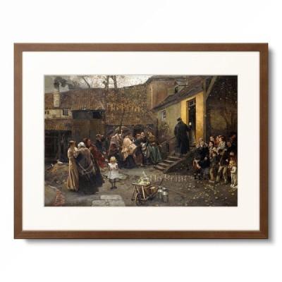 Christian Ludwig Bokelmann 「An Arrest. 1881」