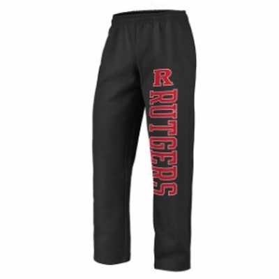 Fanatics Branded ファナティクス ブランド スポーツ用品  Fanatics Branded Rutgers Scarlet Knights Black Sideblocker Fleece Pants