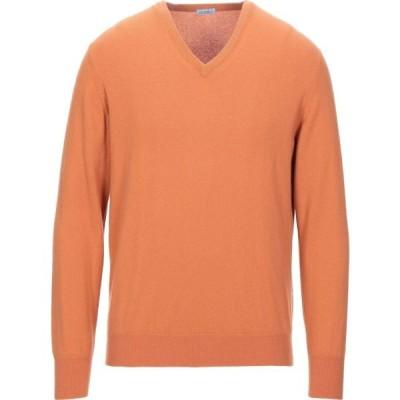 マーロ MALO メンズ ニット・セーター トップス cashmere blend Orange