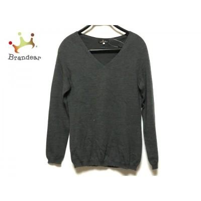レキップ ヨシエイナバ L'EQUIPE YOSHIE INABA 長袖セーター サイズ40 M レディース グレー   スペシャル特価 20200401