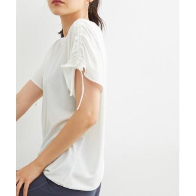 tシャツ Tシャツ スリーブシャーリングTシャツ